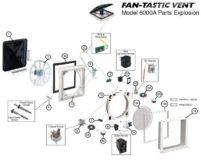 Fan-Tastic Vent Model 6000A