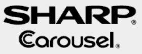 Sharp Carousel Over The Range Model R-1480