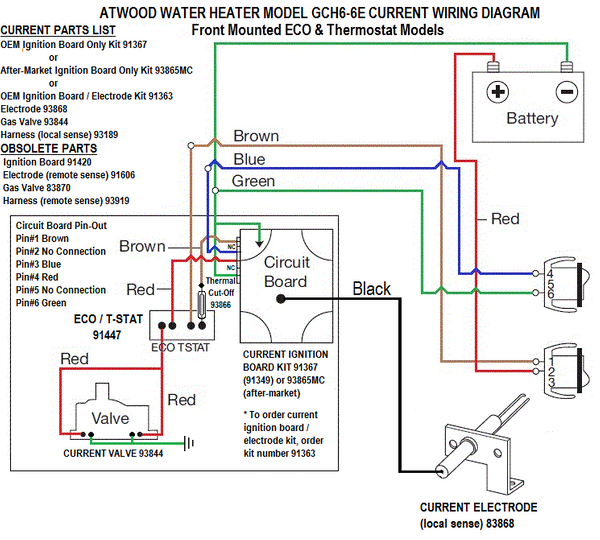 Wiring Diagram For Gas Valves Water Heater from techsupport.pdxrvwholesale.com